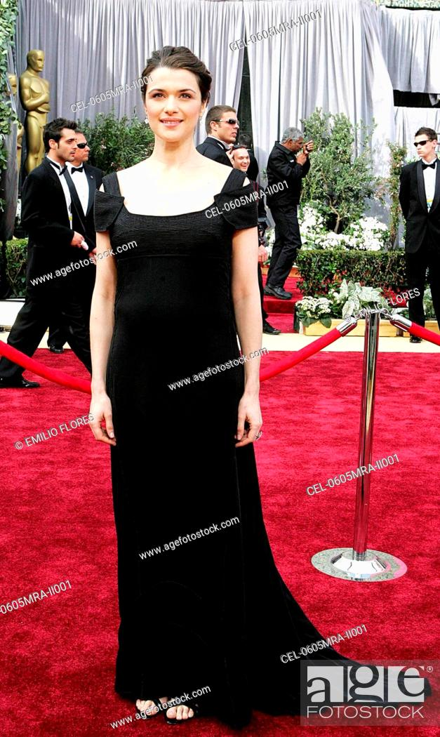 Rachel Weisz Wearing A Narciso Rodriguez Dress And Chopard Jewelry