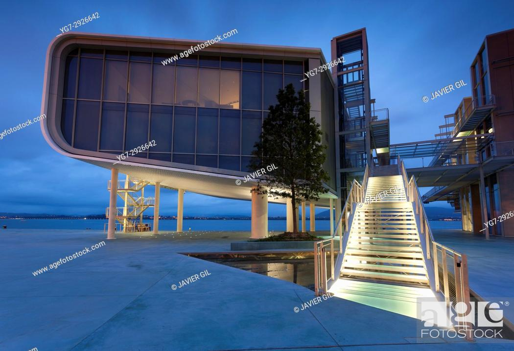 Stock Photo: Botin centre, Santander, Cantabria, Spain.