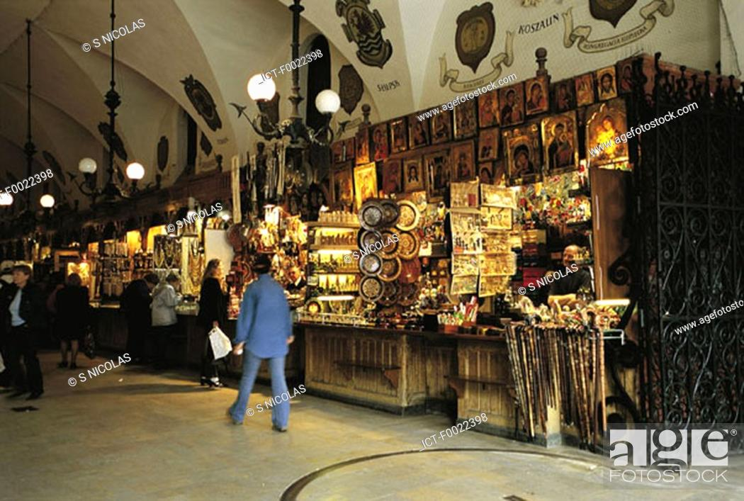 Stock Photo: Poland, Kracow, in the market.
