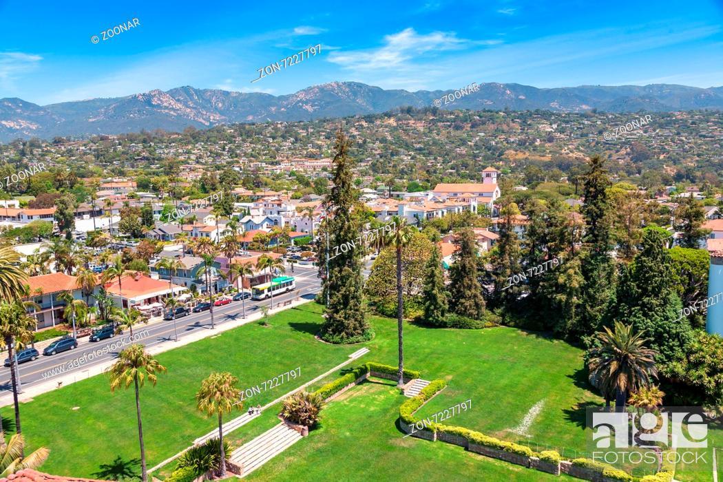 Imagen: View from Santa Barbara.