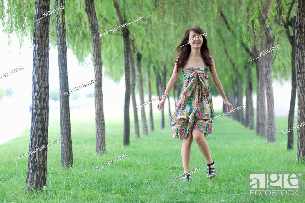 Stock Photo: Chinese girl.