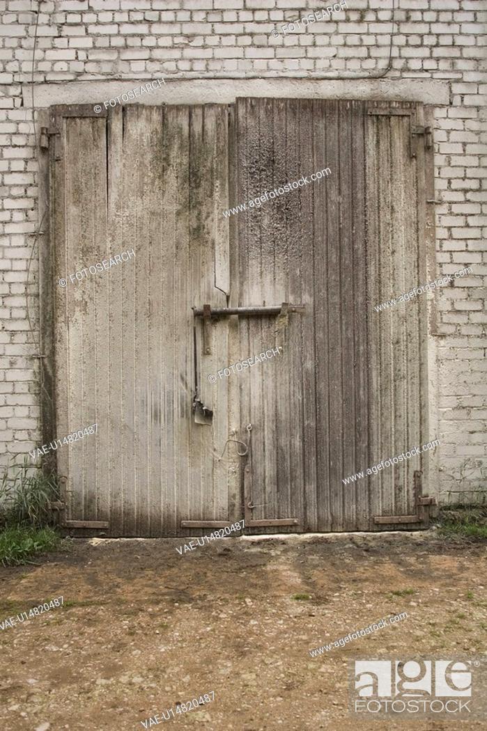 Stock Photo: Day, Door.