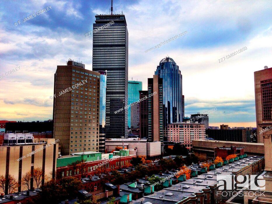 Imagen: The Boston skyline.