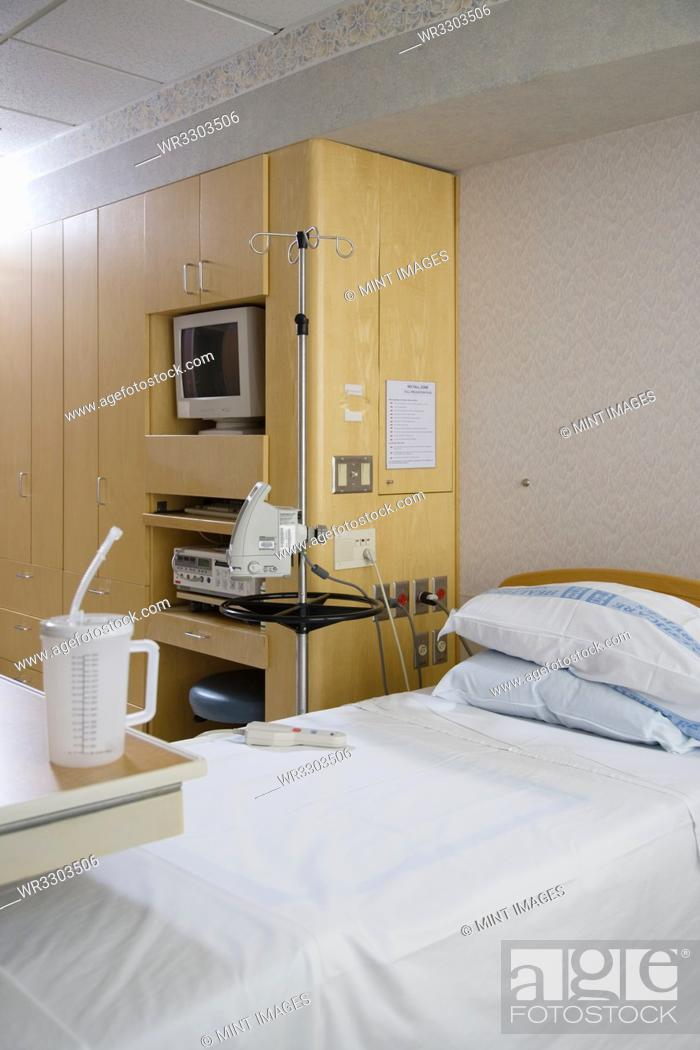 Stock Photo: Hospital Room.