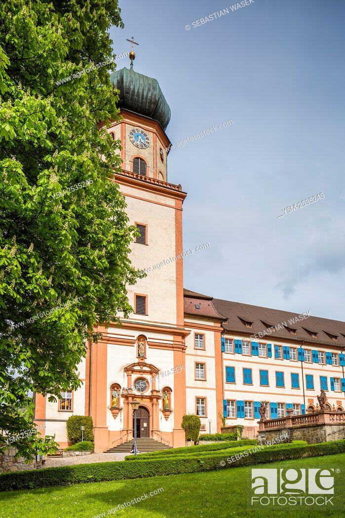 Stock Photo: Kloster St. Trudpert monastery, Münstertal, Black Forest, Baden-Württemberg' Germany, Europe.