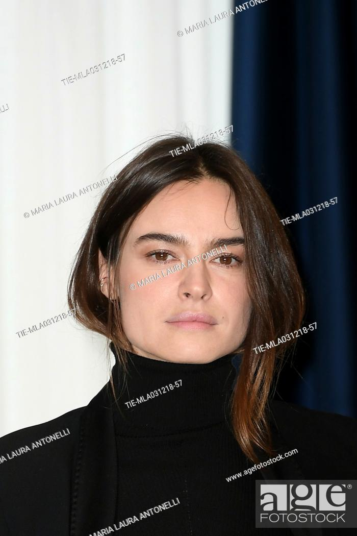 Imagen: Kasia Smutniak during the phptocall of film La prima pietra, Rome, ITALY-03-12-2018.
