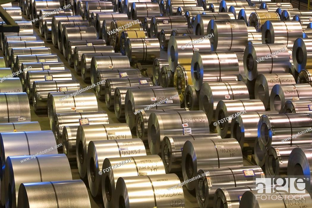 Stock Photo: Cylinder, Day, In A Row.