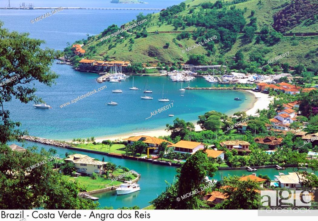 Stock Photo: Brazil - Costa Verde - Angra dos Reis.
