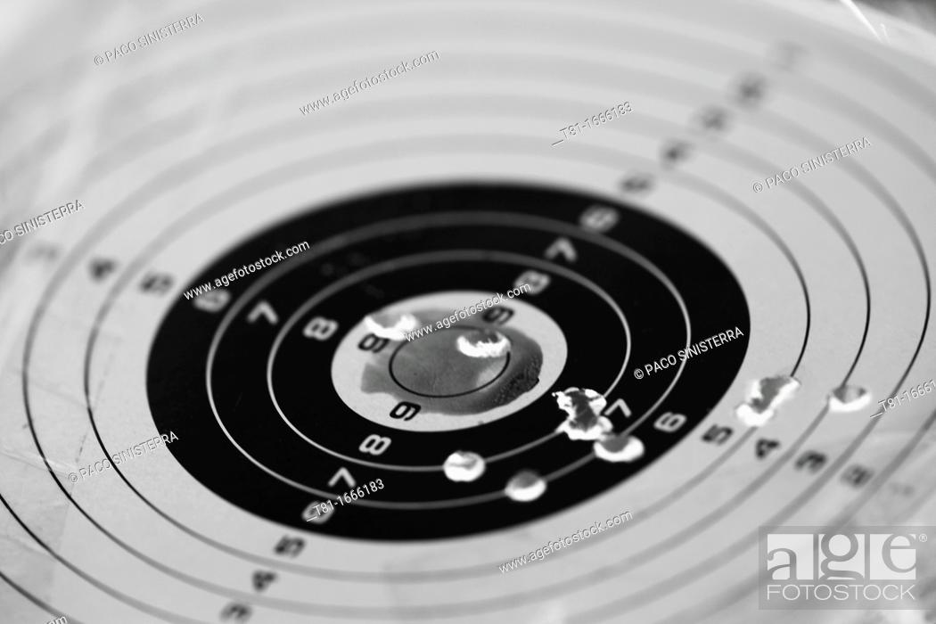 Stock Photo: marksmanship, target.