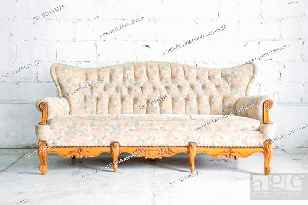 Stock Photo: classical style Sofa.