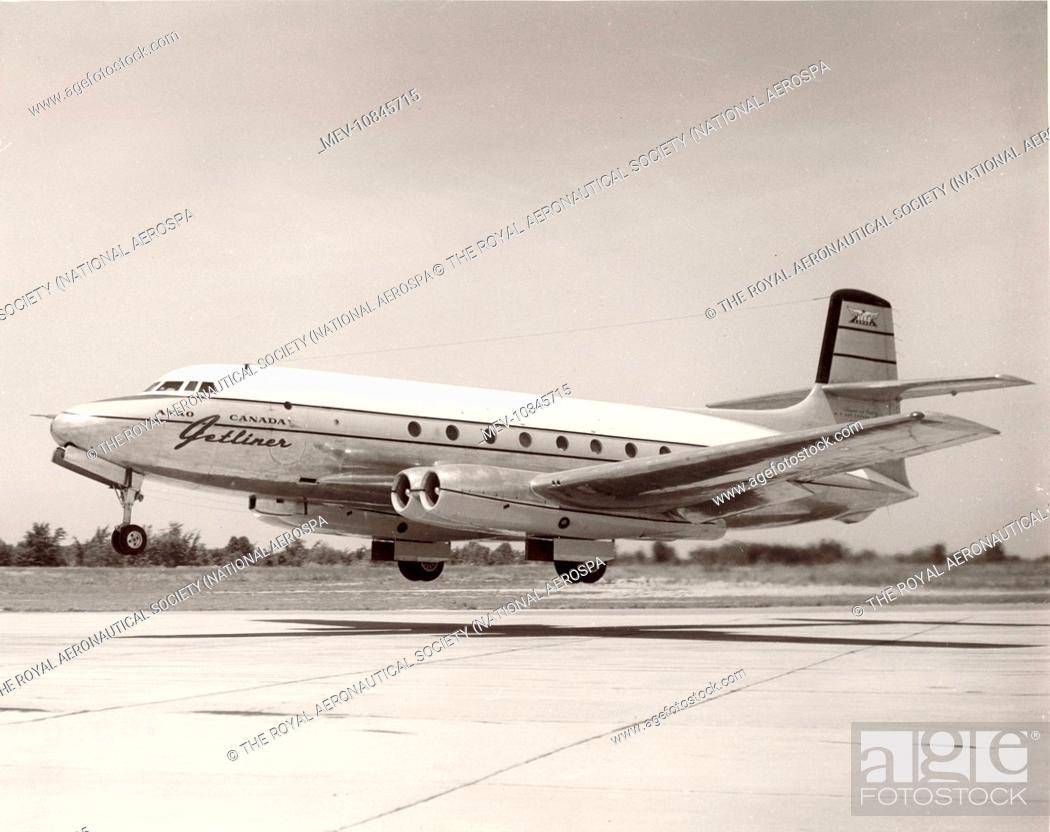 The sole Avro Canada C102 Jetl...
