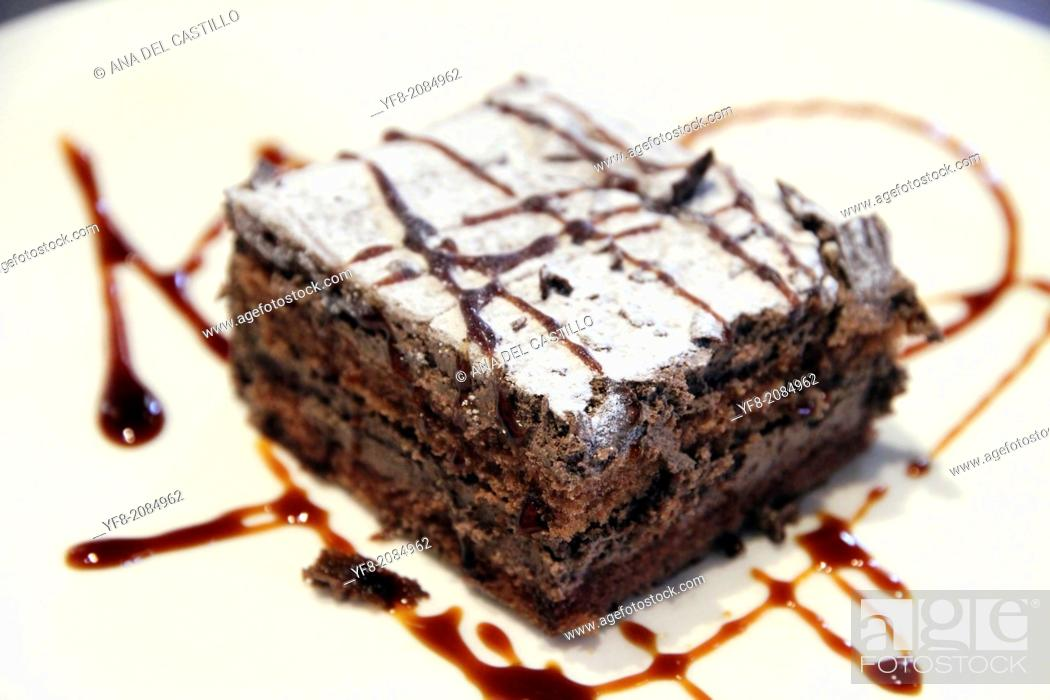 Imagen: Chocolate tart.