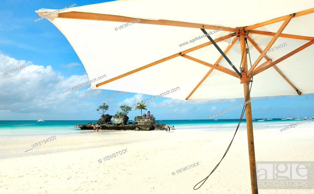 Stock Photo: Boracay Island, Philippines.