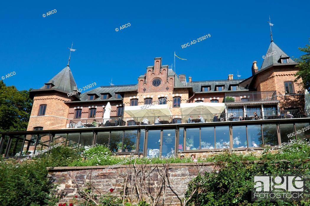 Sofiero Castle Helsingborg Skane County Sweden Sofiero Slot Stock