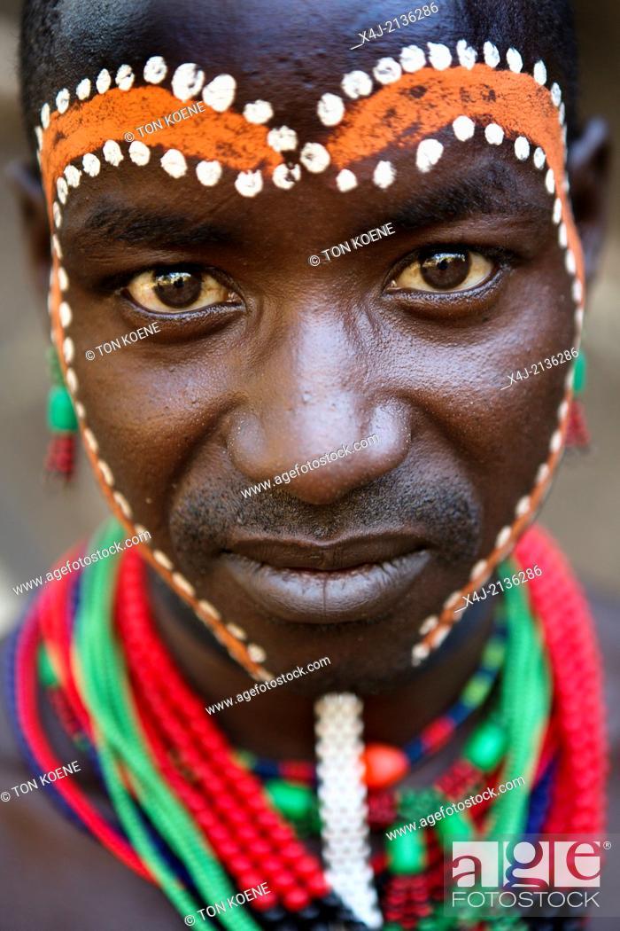 Stock Photo: Hamer tribe in Ethiopia.