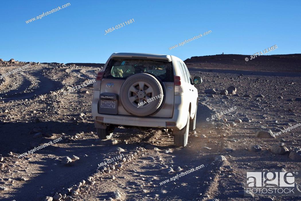 Imagen: Bolivia, Los Lipez, car,.