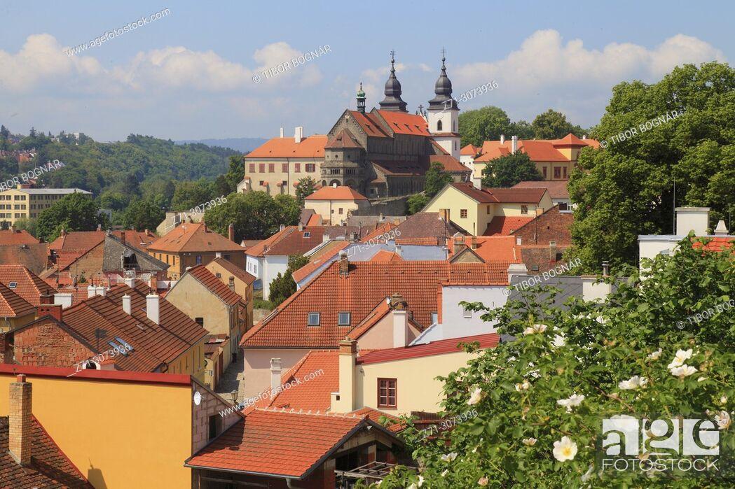 Imagen: Czech Republic, Trebic, skyline, general view, .