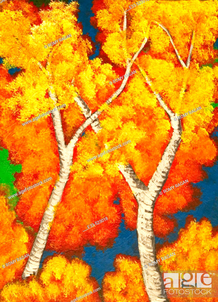 Imagen: 'Crisp Day' 2003 Acrylic on canvas 11 x14' Private collection.