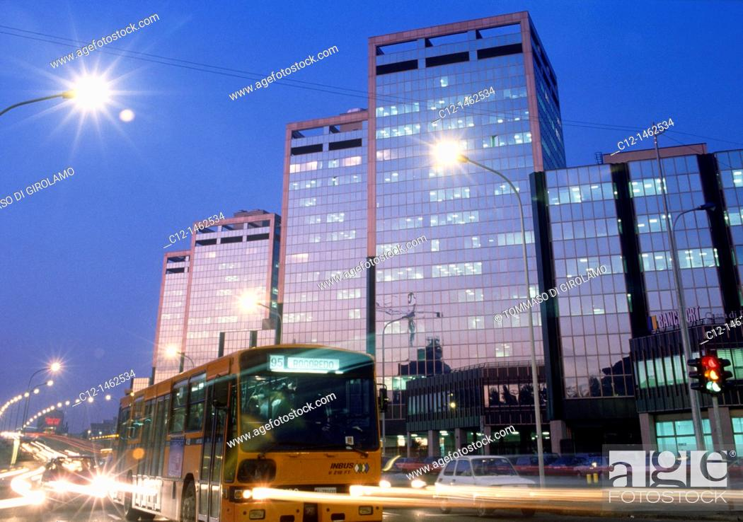 Stock Photo: Milano, buildings.