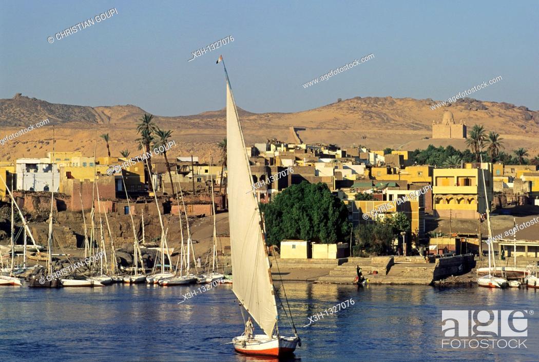 Imagen: Elephantine island, Aswan, Egypt, Africa.