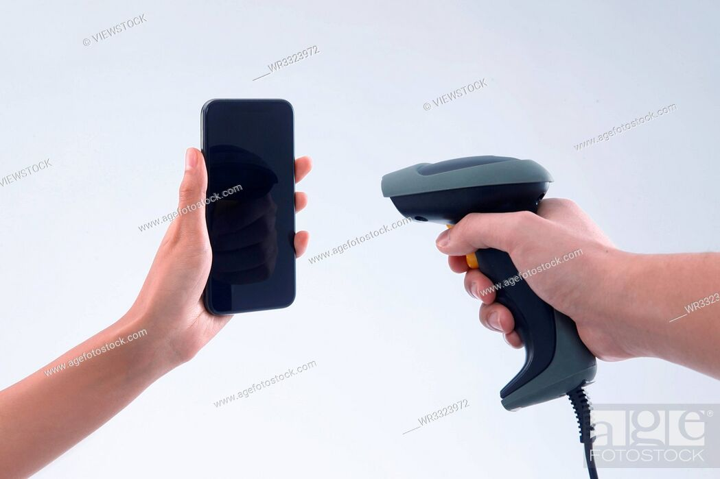 Stock Photo: Mobile payment.