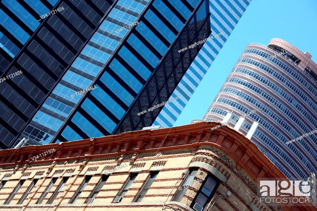 Stock Photo: Corporate Skies I.