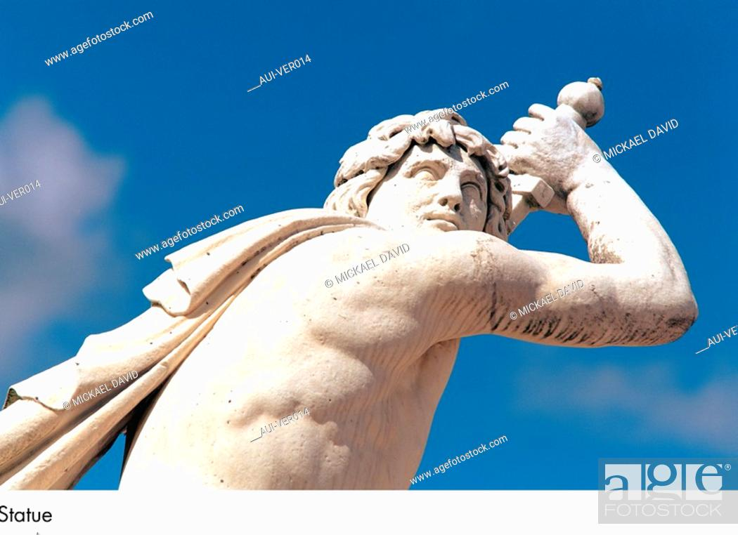 Stock Photo: Palace of Versailles - Statue.