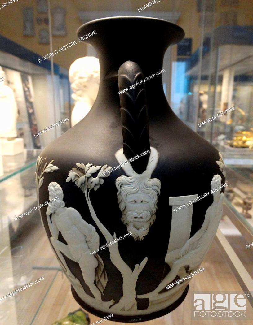 Copy Of The Portland Vase By Josiah Wedgwood Sons Etruria Known