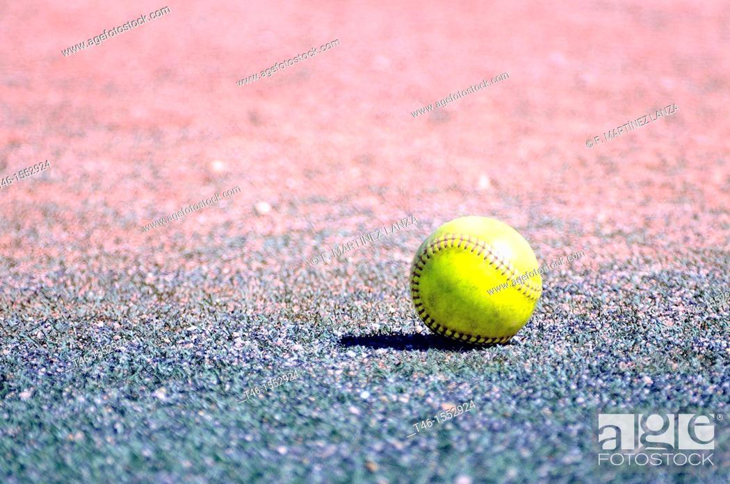Stock Photo: Softballs.