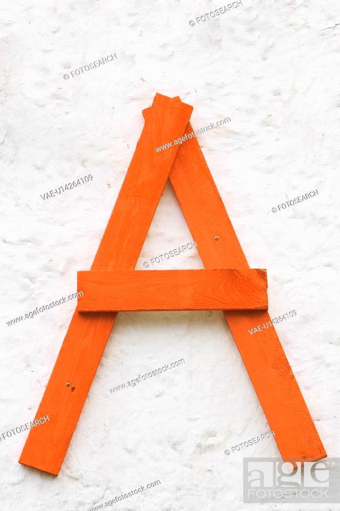 Stock Photo: Appearance, Design, Cut Out, Arrangement, Alphabet.