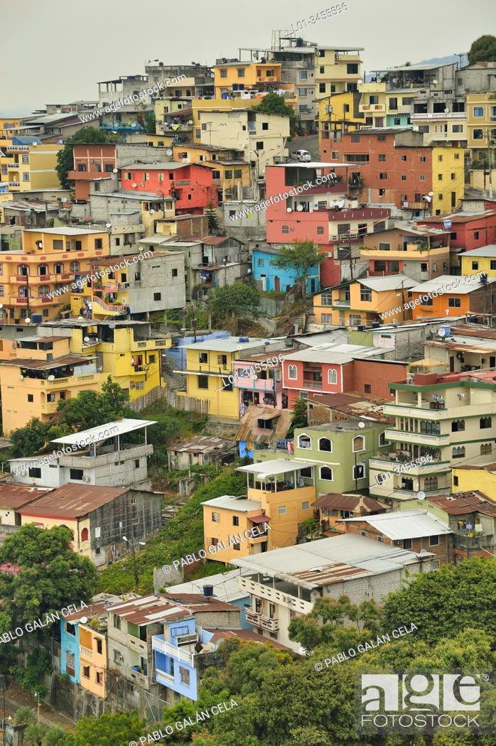 Imagen: Las Peñas neighborhood, Guayaquil, Ecuador.