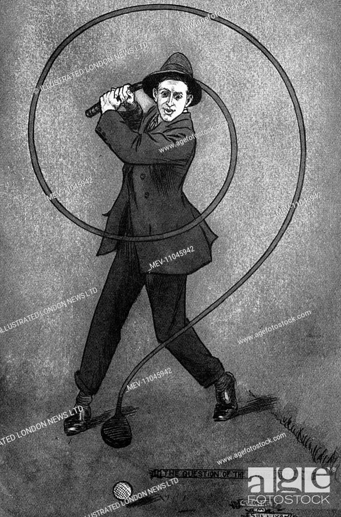 Stock Photo: Caricature of Denys Finch-Hatton (1887-1931). Denys Finch-Hatton, was a big game hunter and was immortalised in the autobiographical novel by Karen Blixen (Isak.