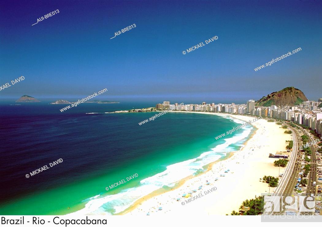 Stock Photo: Brazil - Rio - Copacabana.