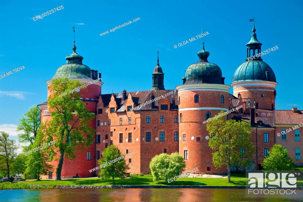 Stock Photo: Gripsholm castle.