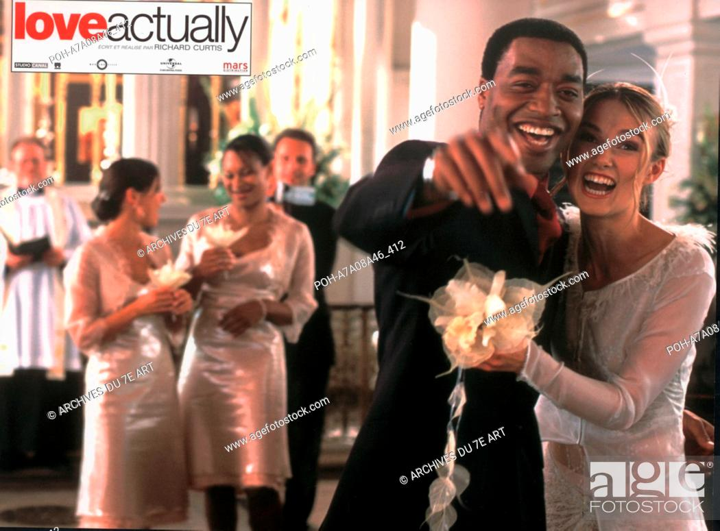 Love Actually 2003 Usa Keira Knightley Chiwetel Ejiofor Director Richard Curtis Stock Photo Picture And Rights Managed Image Pic Poh A7a08a46 412 Agefotostock