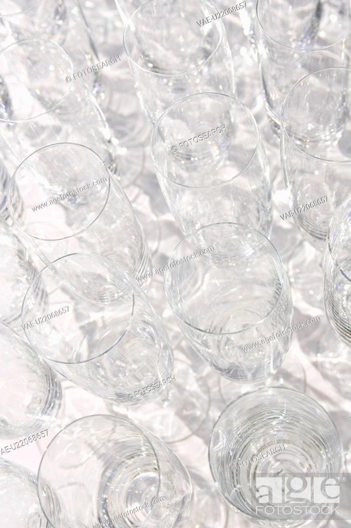 Stock Photo: Glass, Wine Glass, Arrangement.