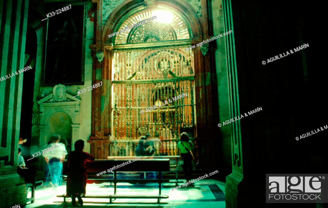 Stock Photo: Christian chapel in the old mosque of Cordoba. Andalusia. Spain.