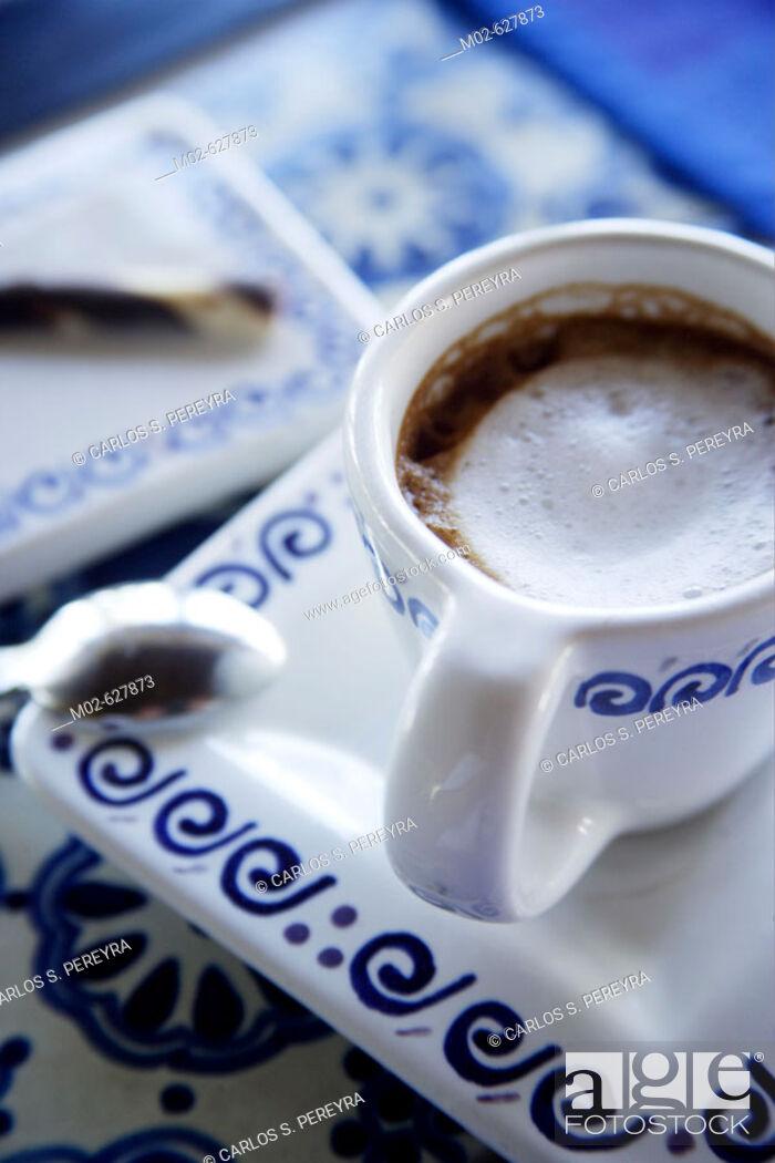 Stock Photo: Coffee detail.