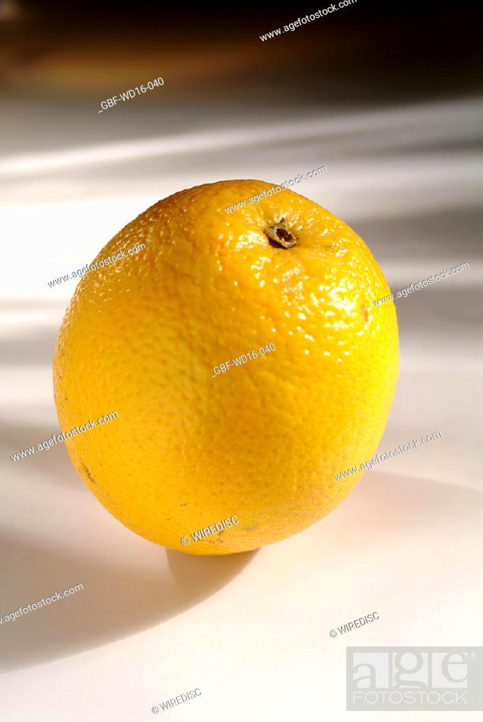 Stock Photo: Food, fruit, orange.