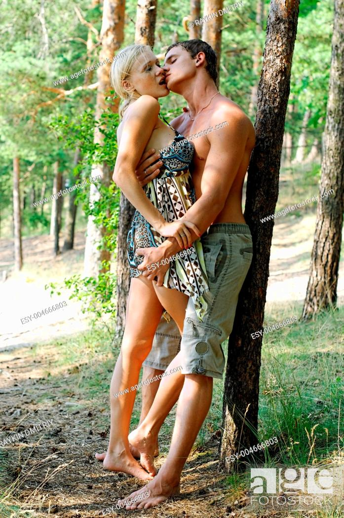 Stock Photo: Summer love.