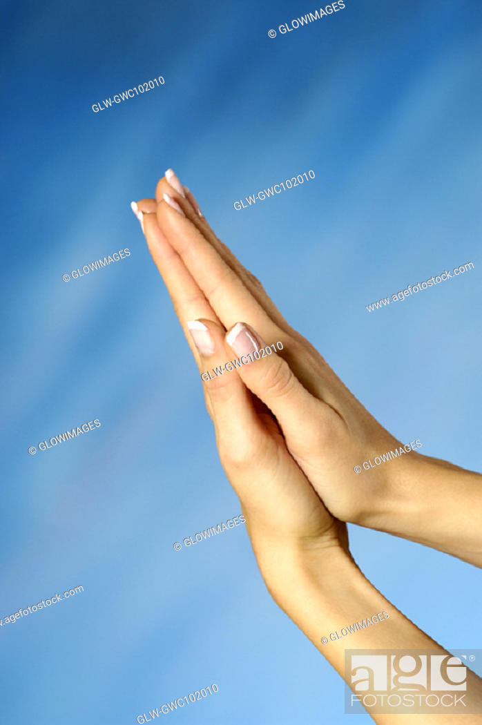 Stock Photo: Close-up of a woman's hands.