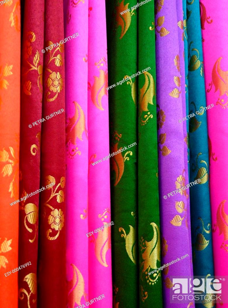 Bunte Stoffe Stock Photo Picture And Low Budget Royalty Free Image