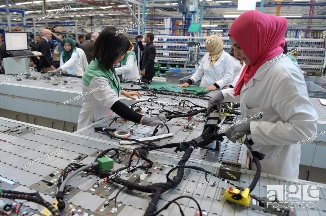 wiring harness factory wiring diagram split wiring harness factory wiring diagram list wiring harness factory tunisian employees work on a wiring harness