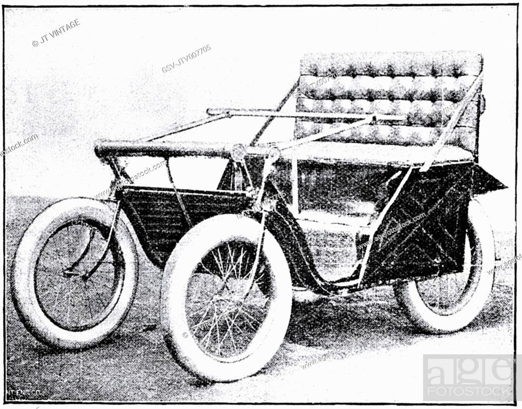 Imagen: Victoria Motorette, Racine Motor Vehicle Company, circa 1895.