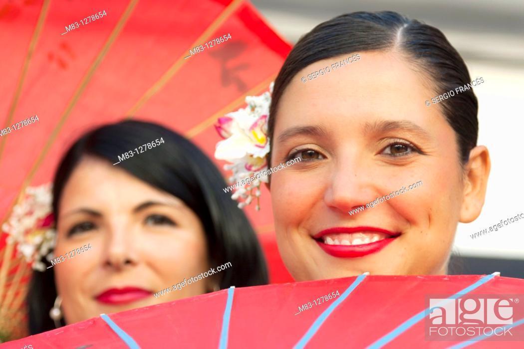 Stock Photo: Popular festivities in Carricola, Valencia.