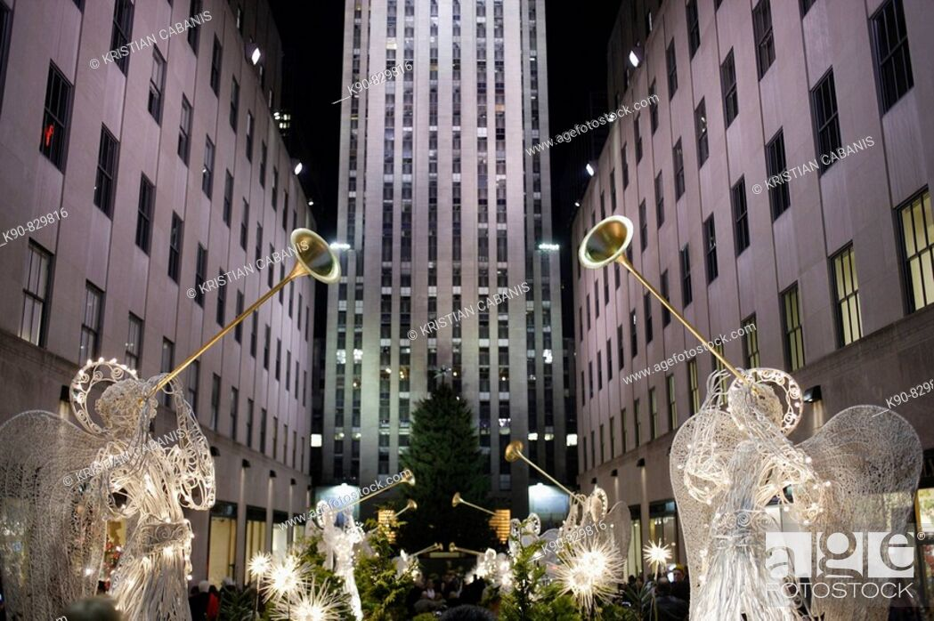 Stock Photo: USA New York City Rockefeller Centre.