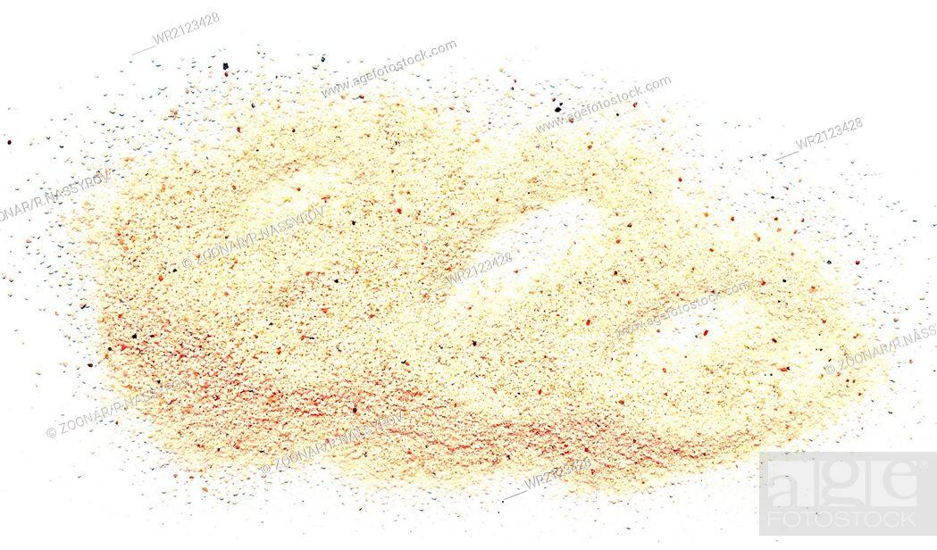 Imagen: sand pile.