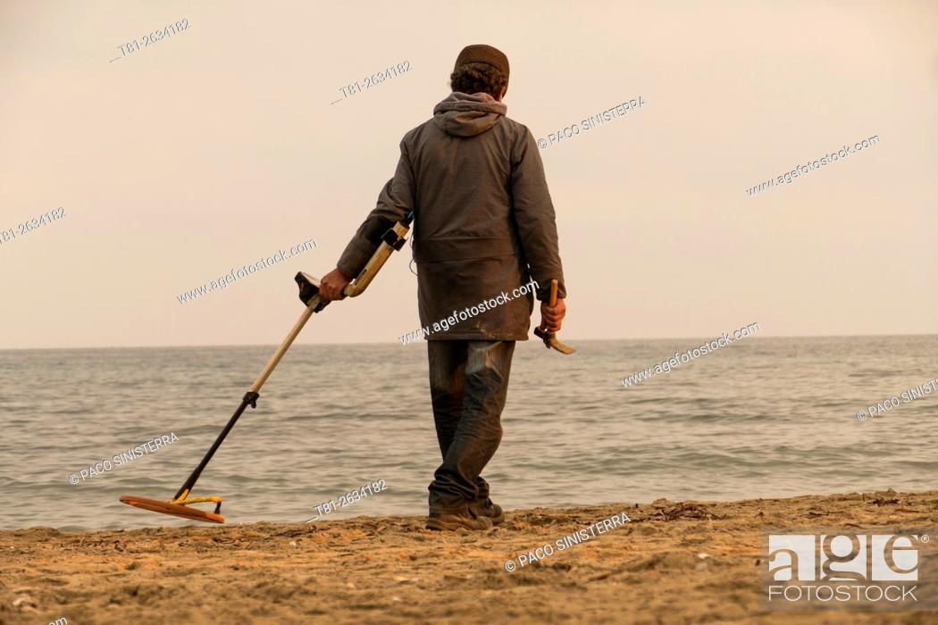 Stock Photo: metals and treasure finder l, France.