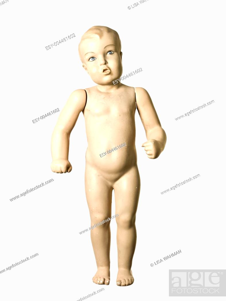 Stock Photo: Child mannequin.