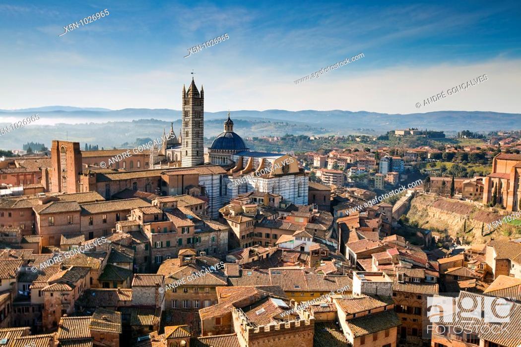 Stock Photo: Siena, Tuscany, Italy.